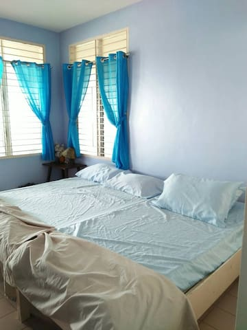 Bedroom 2  may be rented at P1,500 per night  Other rooms will be locked.