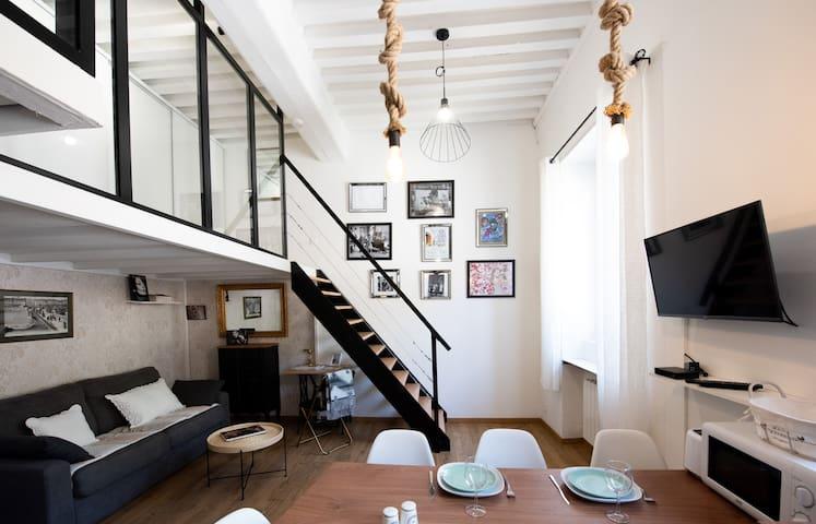 Le Ferratière - Modern industrial flat in Vieux Lyon