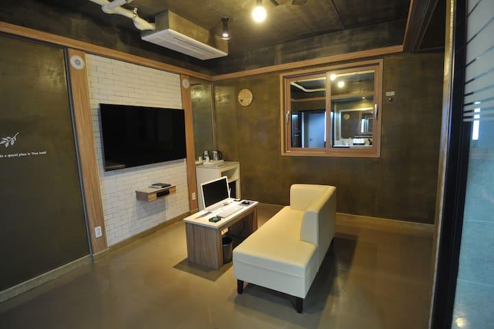 Time Hotel - Mulgeum-eup, Yangsan-si - Butikový hotel