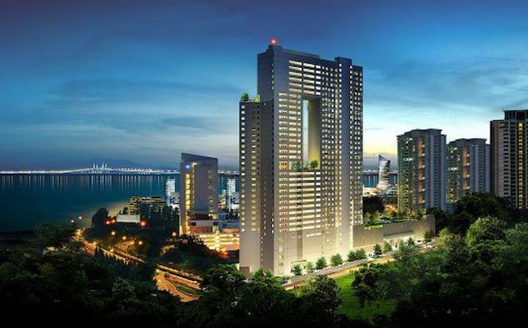 "The ""Pearl"" in the heart of Penang - Gelugor - Apto. en complejo residencial"
