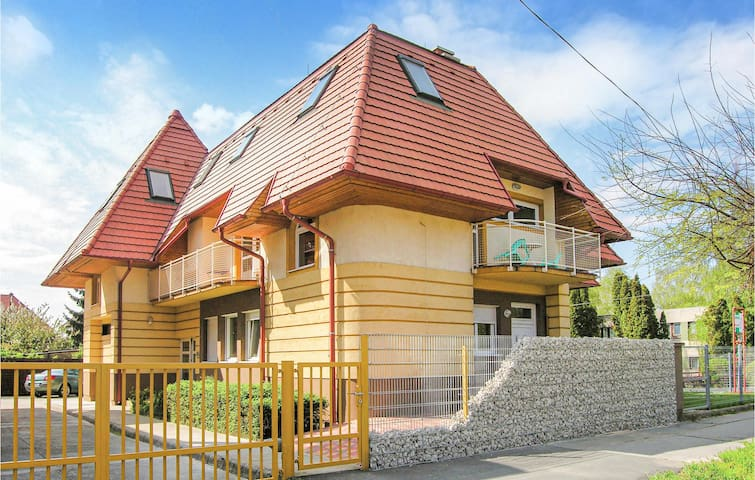 Holiday apartment with 1 bedroom on 55m² in Keszthely