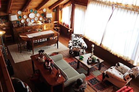 Luxury apartment in chalet - Allevè