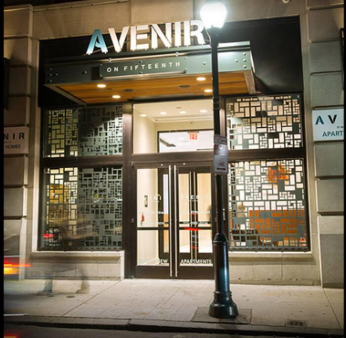 Avenir Apartment building entrance