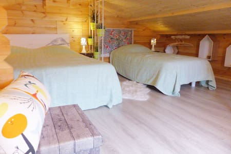 "Chalet Légend'eyre close to the port of ""Tuiles"""