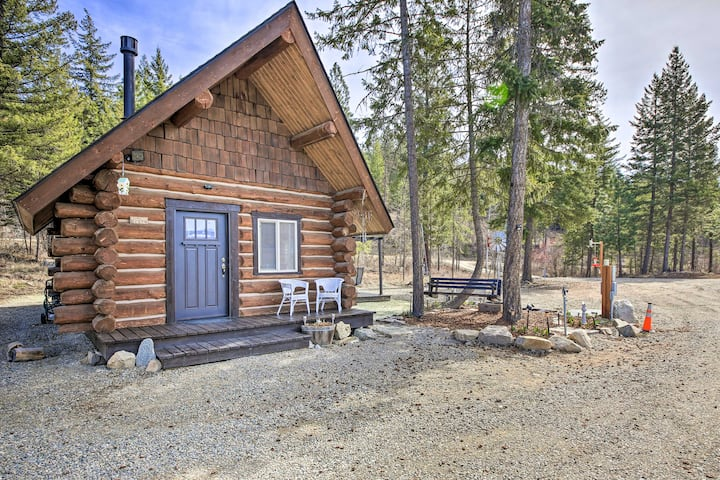 NEW! Peaceful Kootenai Cabin - Unplug in the Mtns!