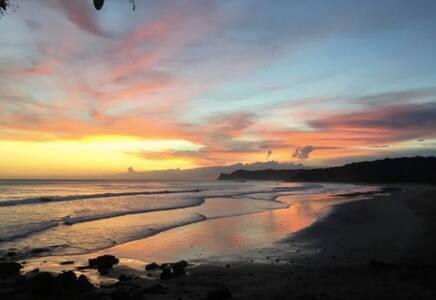 The Peace Circle: Beachfront Bungalow