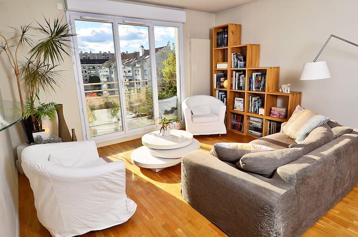 Appartement avec terrasse Gratte-Ciel - Villeurbanne - Apartment