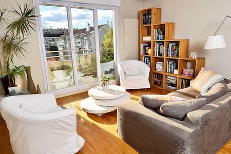 Appartement avec terrasse Gratte-Ciel - Villeurbanne - Apartmen