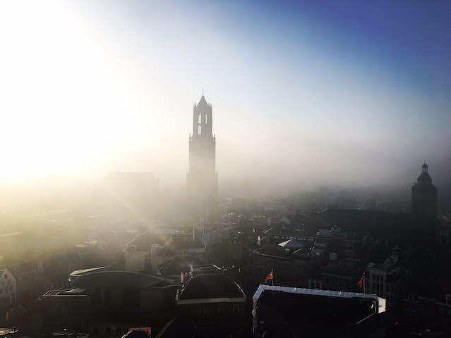 Penthouse Utrecht Center + jacuzzi - Utrecht - Loft
