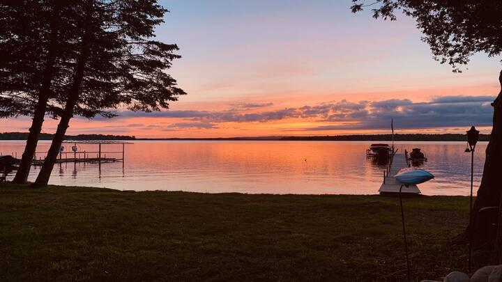 Sunset Shore on Pickerel Lake