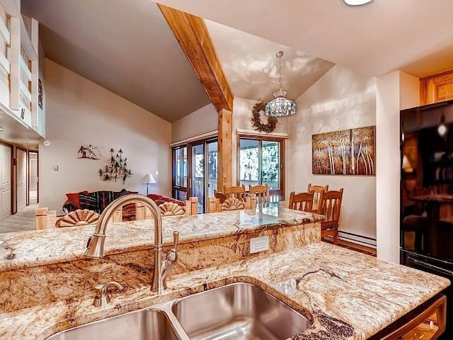 Private Bed/Bath in Keystone - Minutes to Slopes! - Keystone - Condominium