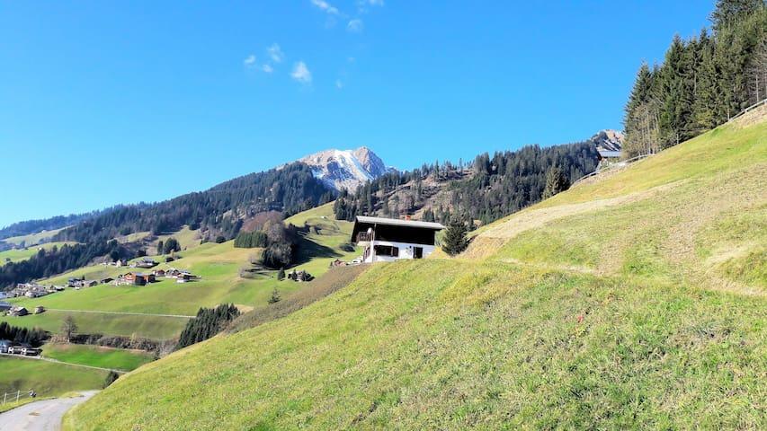 Ferienhaus im Biosphärenpark Großes Walsertal