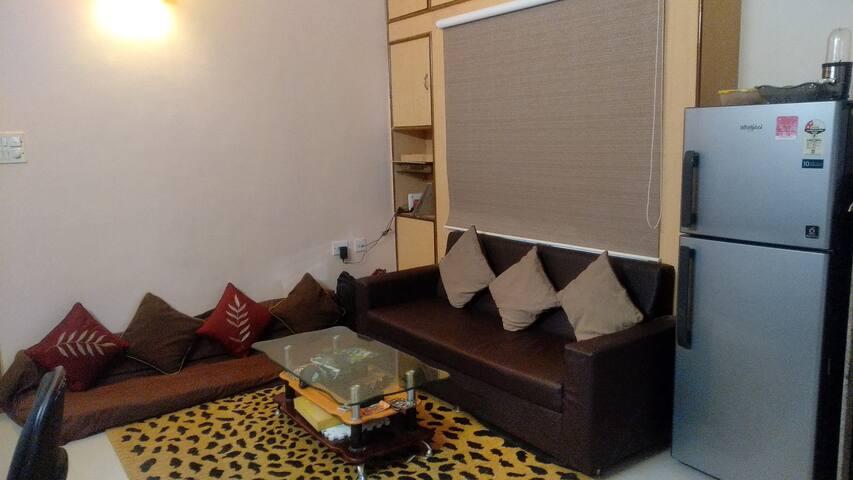 Living room + Floor bed