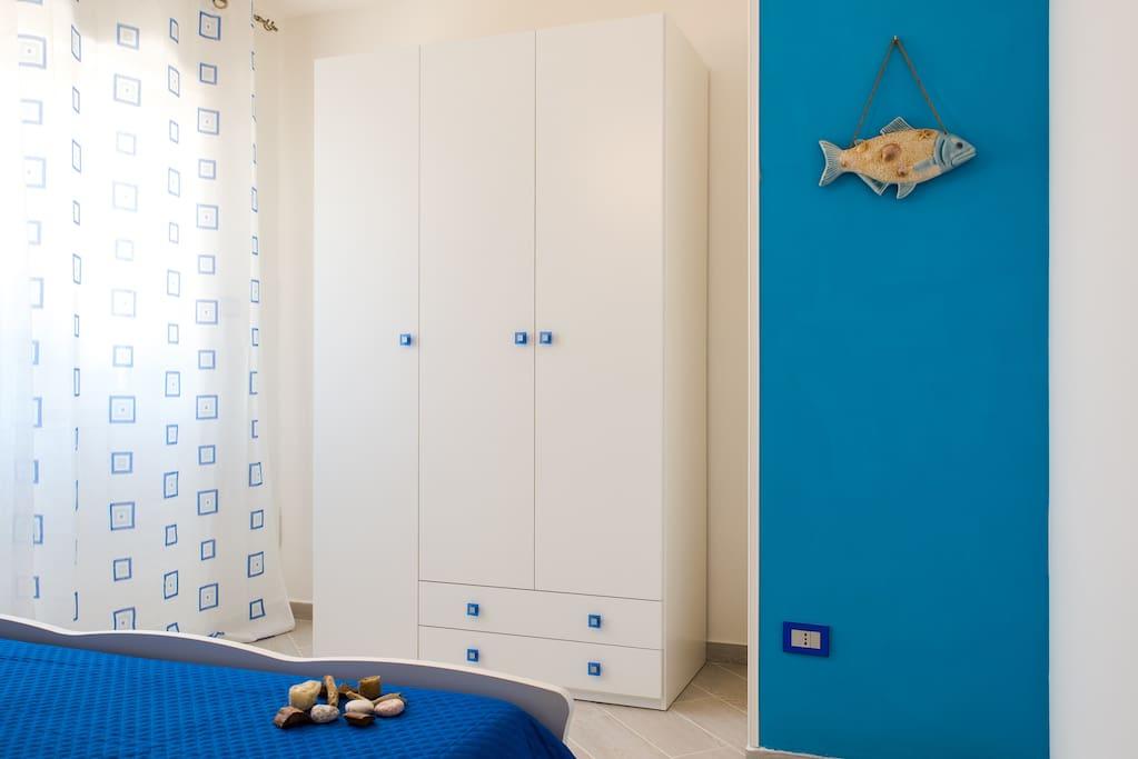 Camera da letto appartamento Anemone