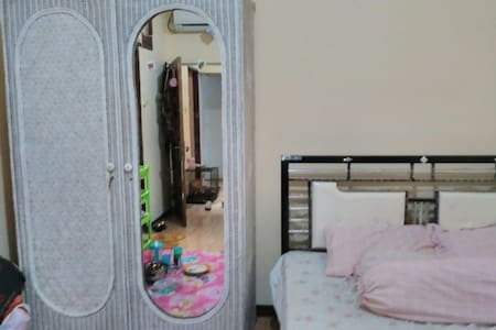 A simple but big to stay monthly - Surabaya - Bed & Breakfast