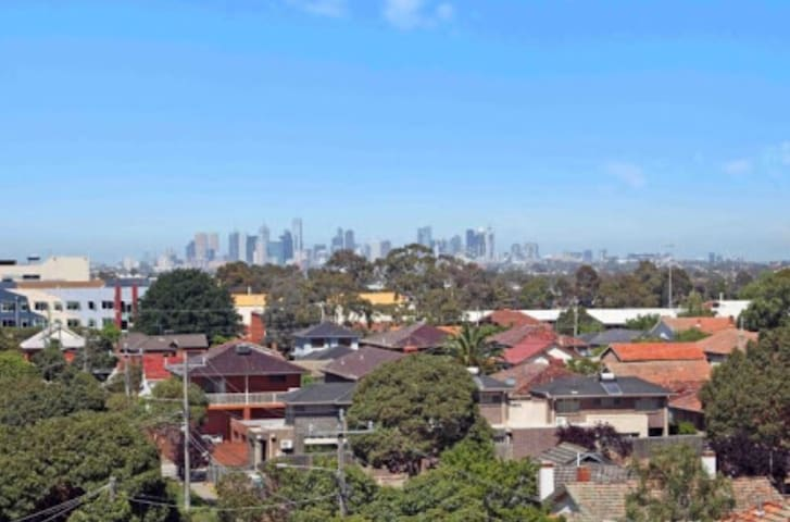 Cozy amazing city view apartment - Preston - Pis