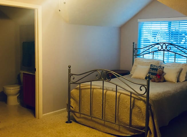 Loft Bed and Bath in Fishers