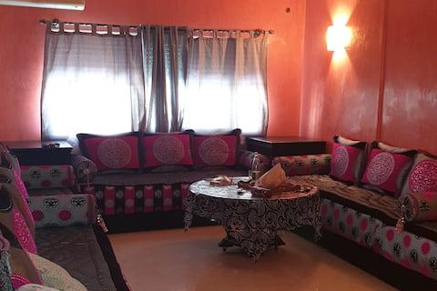 Quiet apartment 90m2, 800m from Hamria  Meknes