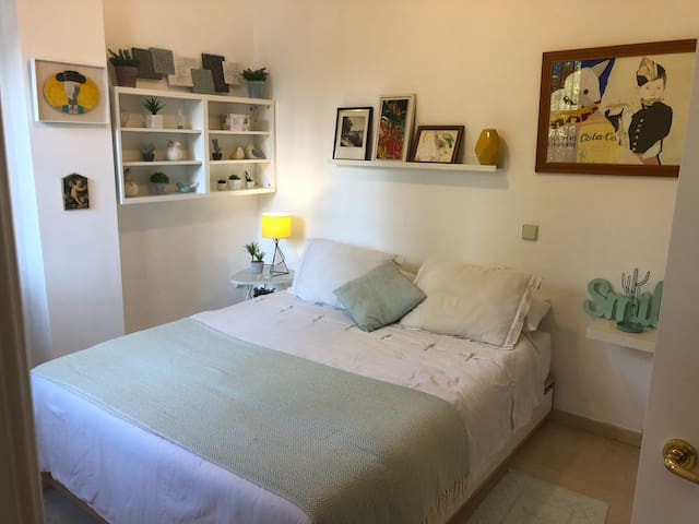Habitación en casa particular con baño privado