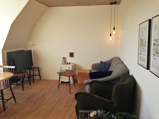 Cozy, spacious apartment with beautiful view! - Aarhus - Apartemen
