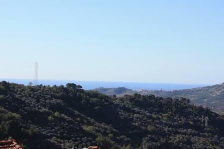 House sea view Montegrazie