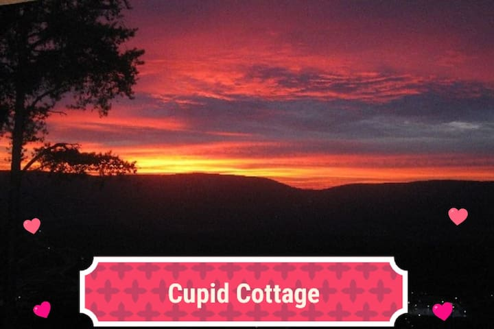 """ABOVE THE CLOUDS BED & BREAKFAST: """"CUPID COTTAGE"""""""