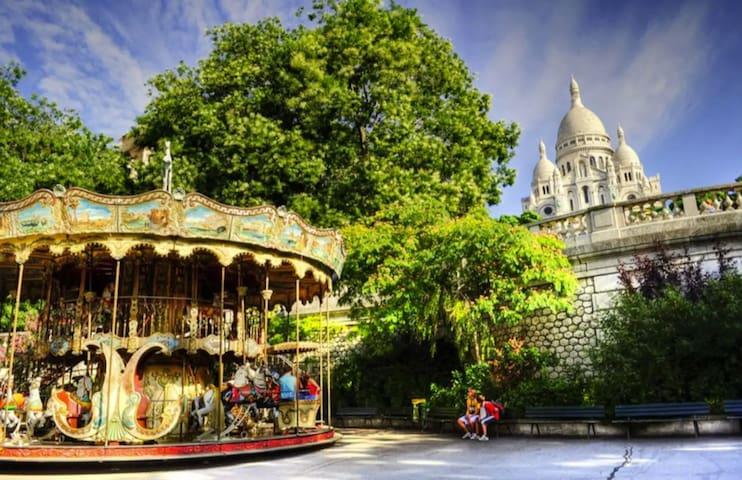 Paris Montmartre / Sacré Cœur Charming & Cosy