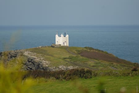 Detached Boscastle apartment with amazing views