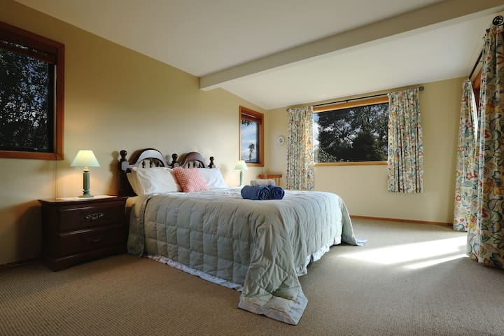 Your large sunny, warm and cosy bedroom - queen bed