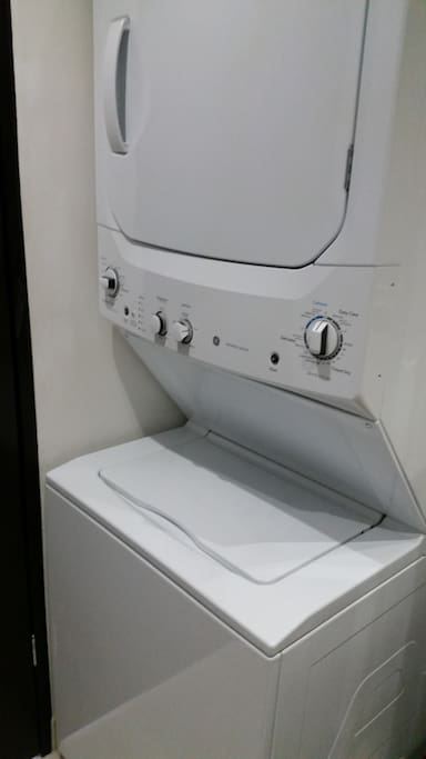 Washer and Dryer for your convienience