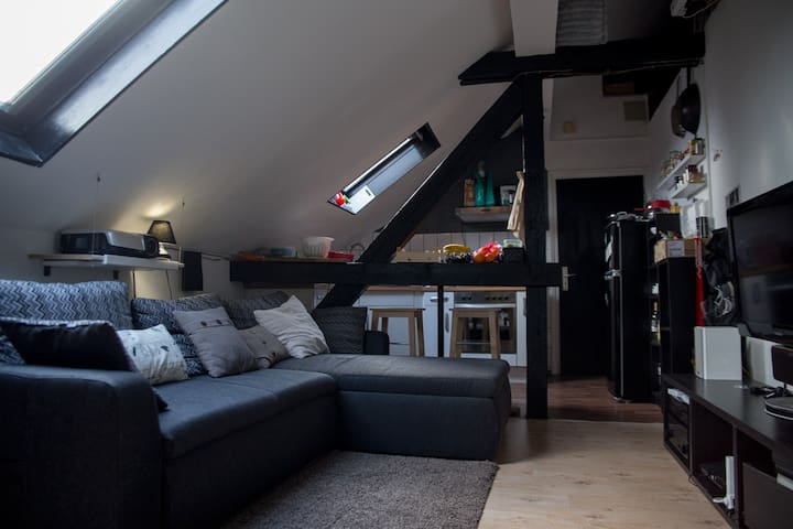 Cozy apartment with private room in Cologne Messe