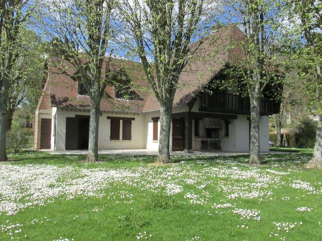 Maison de l'étang - Grosley-sur-Risle - Allotjament sostenible a la natura