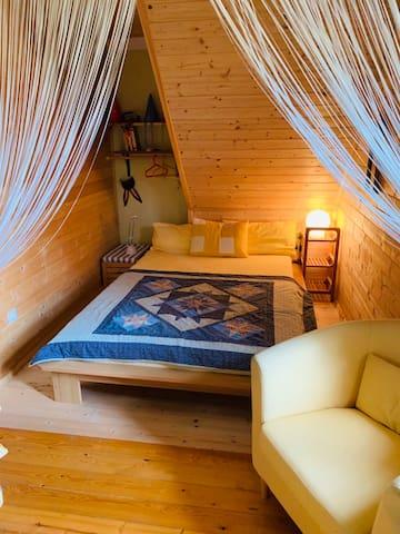 Ein Traum-Ferienhaus direkt am Waldrand gelegen