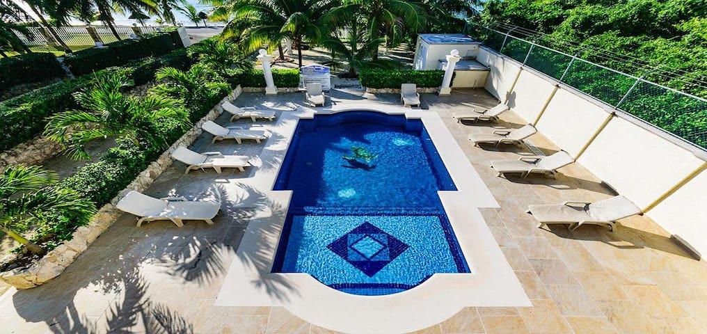 Villa Uvas 3 Bedroom- Second Floor - San Miguel de Cozumel - Villa