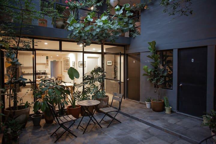 Habitación Sencilla sin ventana Casa Finlandia