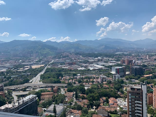 Luxury living with the best view+location Poblado