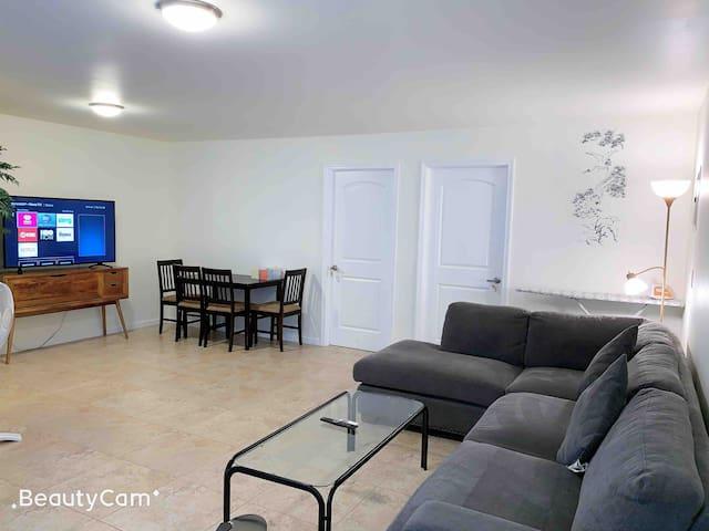 渡假屋1New built 2bedroom 1bath duplex near Waikiki
