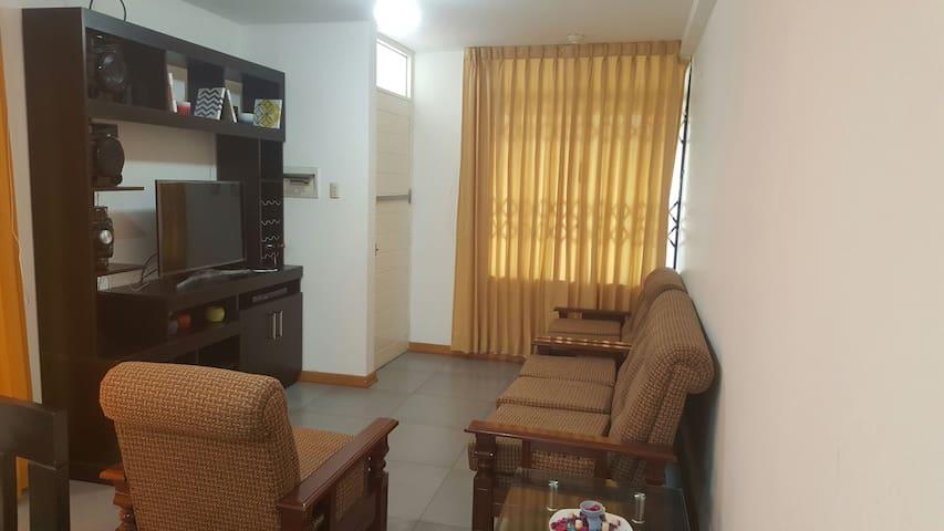 Apartamento amoblado  primer piso (4 Personas) - Victor Larco Herrera, La Libertad, PE - อพาร์ทเมนท์