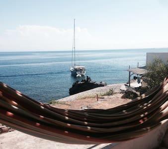 Splendida casa, a pochi metri dal mare. - Alicudi Porto - Dům