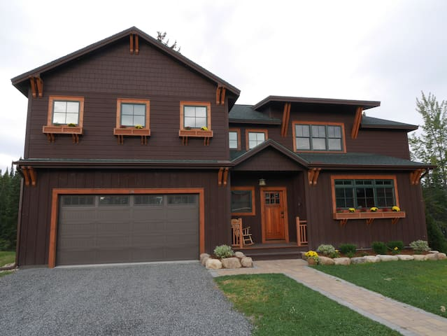 New Waterfront Home in Lake Placid