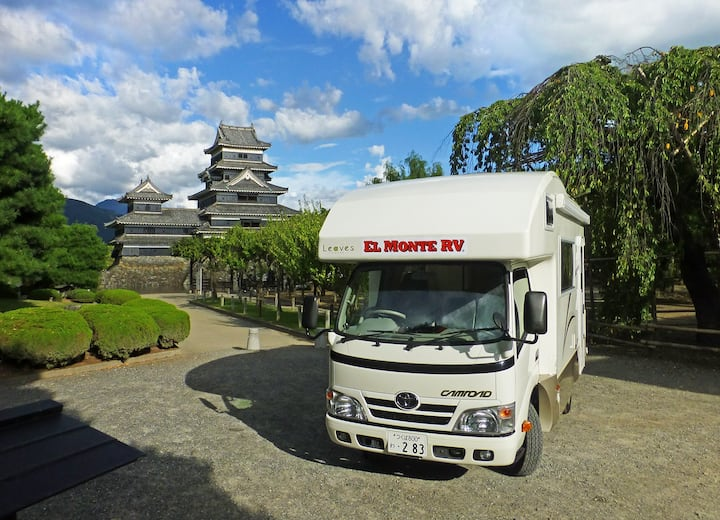 Enjoy El Monte's RV(Motorhome) in Narita, Japan