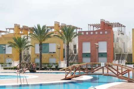Duplex con JACUZZI  VERA PLAYA Borsalino -SeaView