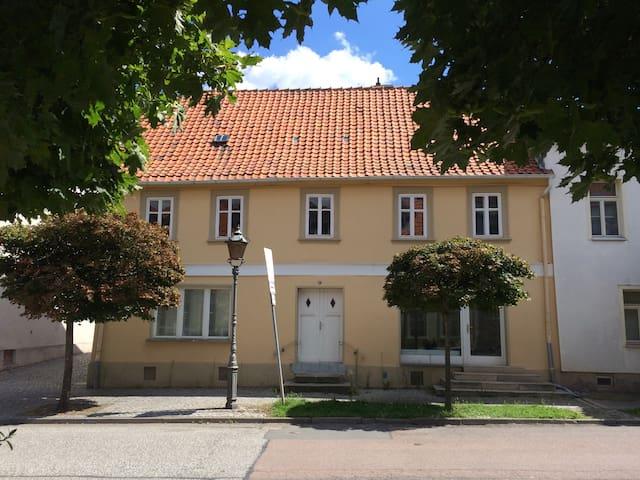 Urig und charmant wohnen in Ballenstedt - Ballenstedt - Apartment