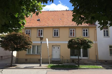 Urig und charmant wohnen in Ballenstedt - Ballenstedt - Apartamento