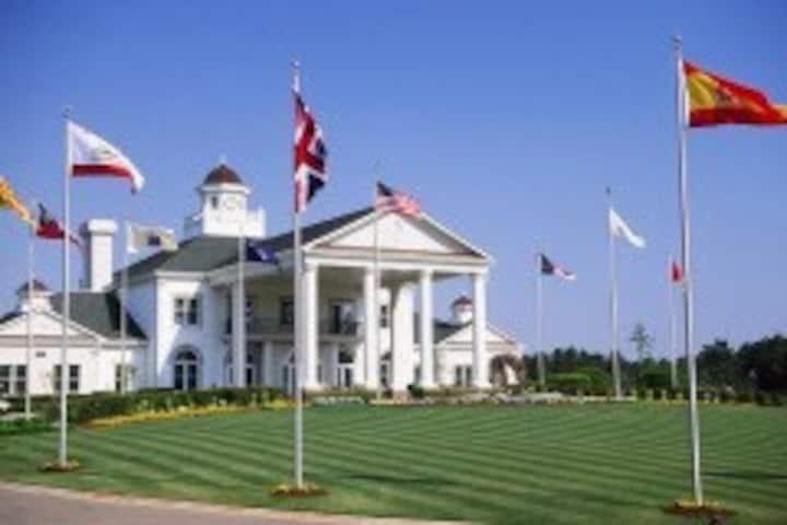 An enjoyable golf retreat
