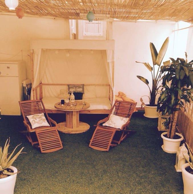 Private terrace/ Terraza privada