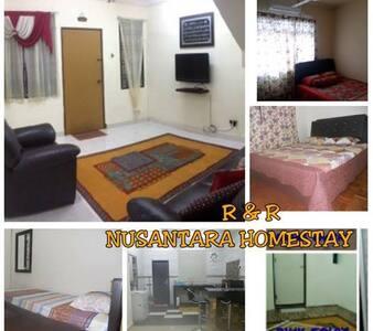 R&R Nusantara Homestay near LEGOLAND - Gelang Patah