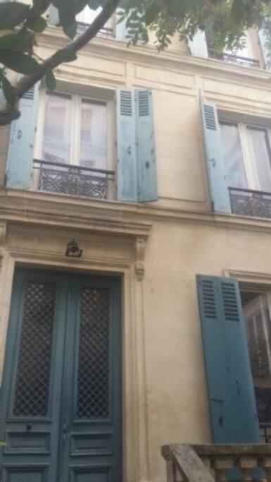 Rare house in Latin quarter