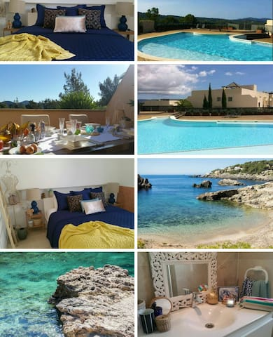 Luxury Ensuite Room+Pool& SecretBeach&Parking=Top