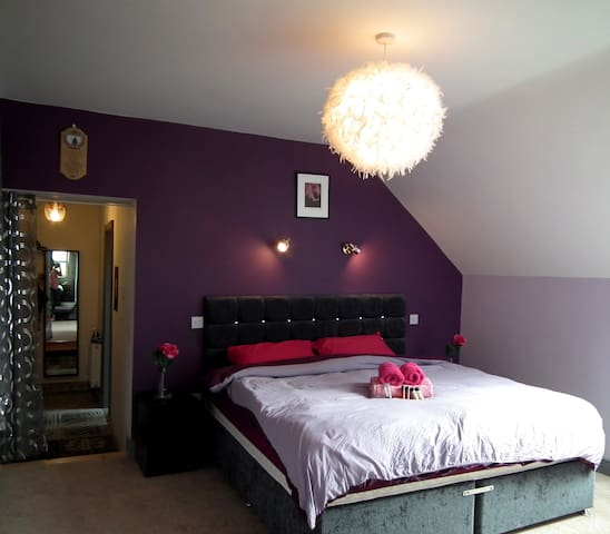 Cozy B&B Surrounded by Green Views (DELUXE ENSUIT) - moate - Bed & Breakfast